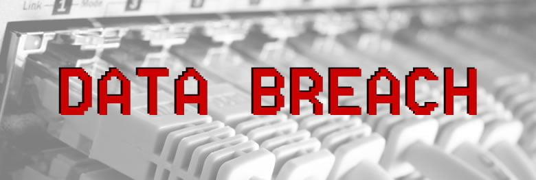 GDPR Data Breach Banner