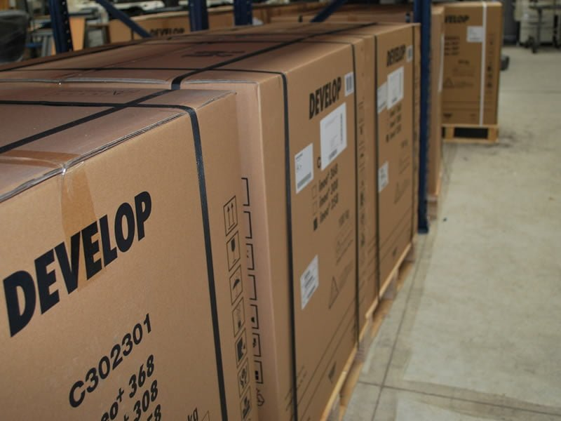 Develop photocopiers in our warehouse