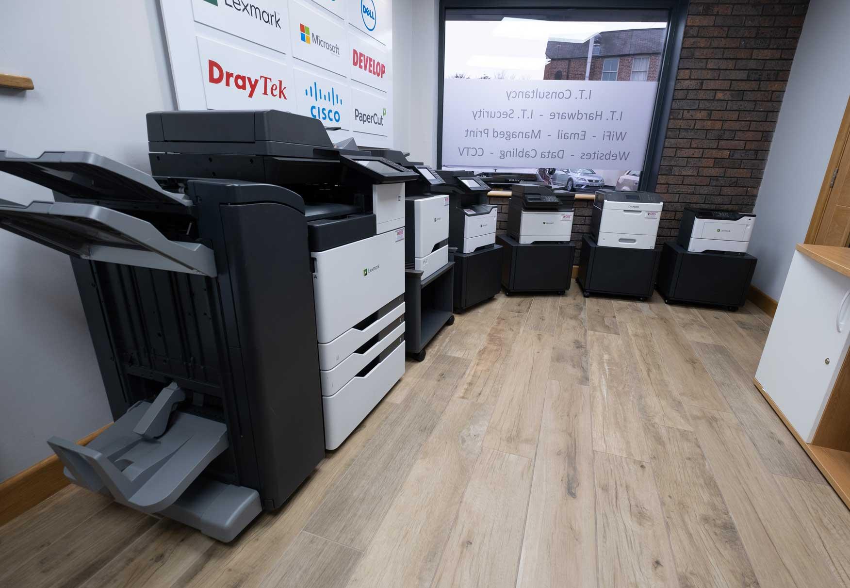 OES Printer Showroom